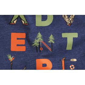 United By Blue Adventure T-shirt à col ras-du-cou à motif Enfant, navy